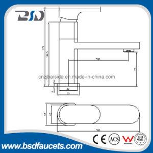 Zeitgenössisches Design Single Handle Control Basin Mixer mit Swiving Spout