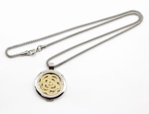 Selling caldo Highquality 316L Stainless Steel Locket Pendant Fashion Necklace
