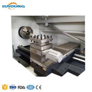 Ck6180自動2つの軸線CNCの回転旋盤は頑丈機械で造る