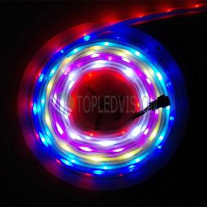 Tira impermeable de IP68 5050 Digitaces RGB LED con alta calidad
