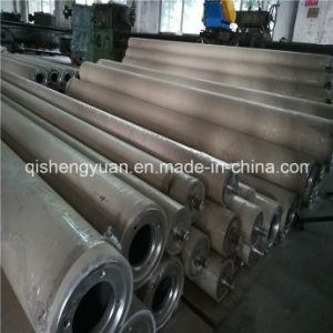 Qingdao están ajustadas de fábrica de rodillos de caucho de la construcción de la máquina
