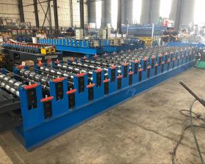 L'acier de couleur automatique Dixin toit vitré machine à profiler de tuiles