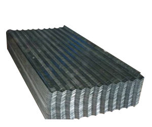 SGCC Hot Feux de feuille de toiture en métal galvanisé