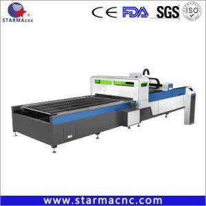 Metal de alta precisión CNC Máquina de corte láser con la plataforma Exchange