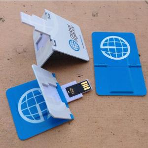 折る名刺USBのメモリ棒