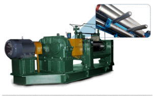 새로운 기술적인 디자인 높은 생산 고무 섞는 선반 기계