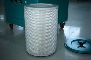 Móvil portátil/extractor de humos de soldadura láser/Filtro de humos de soldadura/colector de polvo