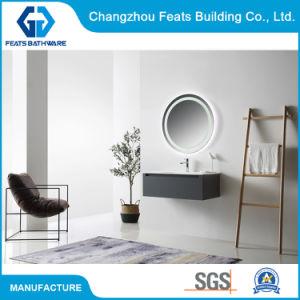 Banheira vendendo móveis domésticos penduradas na parede contraplacado vaidade de banho com luxuosos produtos de luz de LED do Gabinete do retrovisor (#BC18-900C-36'')