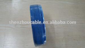 Cabo com isolamento de PVC verde transparente