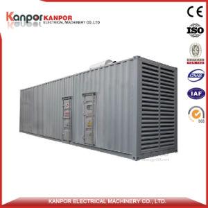 тепловозный комплект генератора 1500kVA с двигателем высокого качества для Австралии