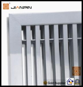 Registos de parede em alumínio de ventilação na parede