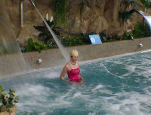 De Waterval van het Blad van het Water van het Zwembad van het Roestvrij staal van FL