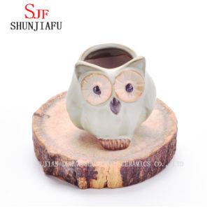 Hand-Made ремесел мини керамические Плз Flower Pot