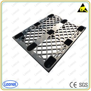 Fabricante Ln-1530D08 preto ESD paletes de plástico