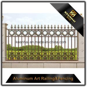 熱い販売の軽量の別荘のアルミニウム機密保護の庭の塀