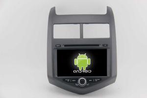 Misura per le multimedia di lettore DVD dell'automobile della Chevrolet Aveo con l'OS Android