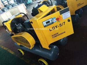 Kaishan lgjy-5/7 30kw Elektrische Compressor van de Lucht van de Schroef voor Mijnbouw