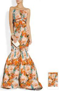 Fertigung-Zoll 40mm gedrucktes Silk Charmeuse Gewebe für Dame Evening Wear