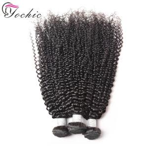 8Un grade Double trame les Extensions de cheveux brésiliens Kinky Curly non transformés produits 100 % couleur naturelle de Tissage de cheveux humains 1/3Pièce 100g Remy les cheveux bouclés Weave
