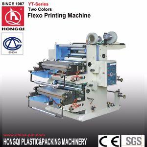 Machine d'impression deux couleurs flexographie