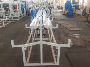 Мы поставляем ПВХ двойной головкой трубы производства машин