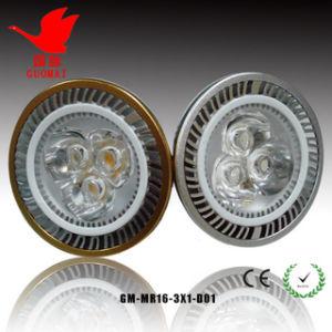 3*1W LED Gu10 Licht
