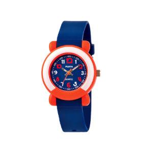 Дети красочные пластмассовые аналоговые часы с 3ATM Water-Proof