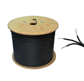 1 Core FTTH Fibre plat avec câble de dérivation FRP Renforcer