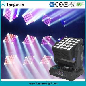 25*15W van het Lichte LEIDENE van de matrijs Apparatuur de Bewegende HoofdStadium Decoration/DJ van Huwelijken