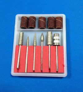 Morceaux de foret de clou réglés pour la manucure électrique de foret d'art de clou
