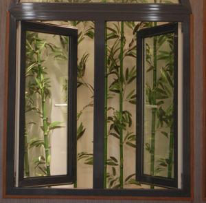 A inclinação de PVC& Rodar Window