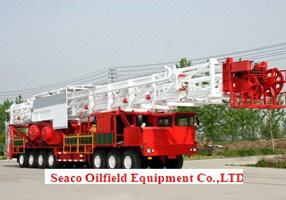 Truck-Mounted torre de perforación, equipos de perforación de petróleo, el equipo, Equipo de Yacimientos Petrolíferos Seaco