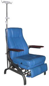 병원 수동 투석 의자 Recliner 참을성 있는 시트는 도로 밀친다 의자 (P01)를