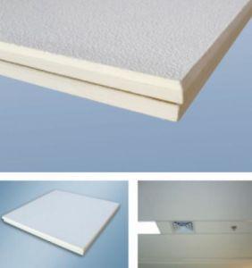 Plafond en fibre de verre, panneau de plafond acoustique
