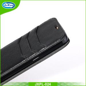 Caisse en cuir de pochette d'unité centrale avec la couverture de stand de slots pour carte pour Samsung S6