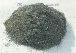 Fibras de aço para as pastilhas de travão