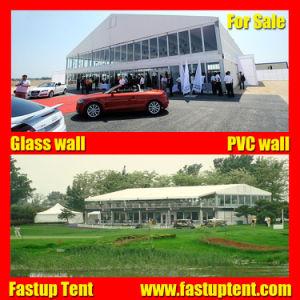 De in het groot Witte Tent van de Markttent van het Dek van het Dak Dubbele voor Auto toont