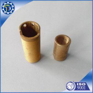 Suministro de OEM de fábrica de latón de metal dorado separador de tubo hueco de acero