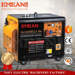 5 het Diesel van kW Stille Type van Generator
