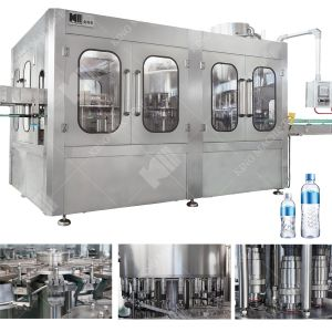 自動水洗浄の満ちるキャッピング機械