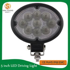 27W lumière ovale d'endroit de la lumière DEL de travail du CREE DEL outre de lumière de route