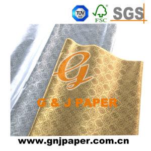 El alto grado de lámina de aluminio en relieve el papel de envoltura de regalos para el Envasado de Alimentos