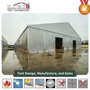 Grande tente d'entrepôt en aluminium de haute qualité avec murs durs