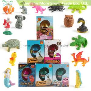 人魚のユニコーンの成長する卵のおもちゃを工夫する新しい動物の魔法水