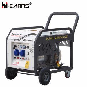 Tipo de bastidor abierto Air-Cooled grupo electrógeno diesel (DG11000E)