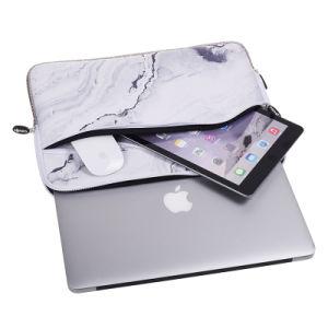 Neopren-Marmormuster-Laptop-Hülsen-Beutel für Zwischenlage-Beutel-Kasten-Deckel der Apple-MacBook Luft-7-17 wasserdichten für Mac-Buch-Retina