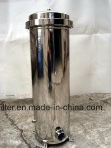 Edelstahl-Wasser-Filtergehäuse SS-304 für Vorfiltration-Behandlung DAMHIRSCHKUH Kassetten