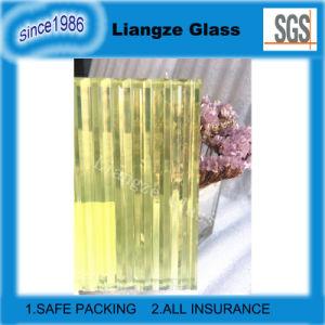Het heldere Gele Gelamineerde Glas van de Zaagtand Patroon