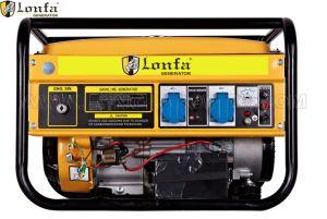 6.5HP 2.5kw/2.5kVAの三相無声ガソリン発電機