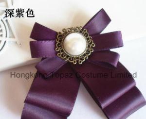 2018 de Mooie Broche van het Bergkristal van de Manier voor de Broche van Bowknot van de Band van de Zijde van het Kostuum van Vrouwen (cb-10)